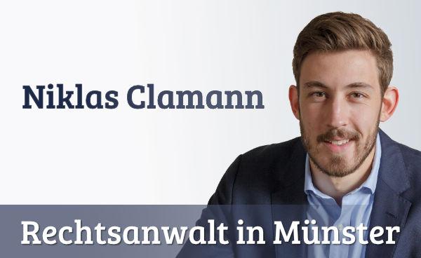 Niklas Clamann- Rechtsanwalt - Scheidungsanwalt